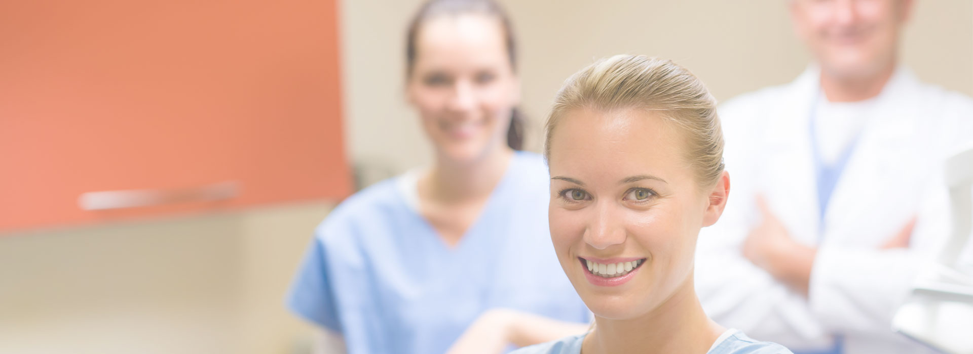 Dentists smiling at dental